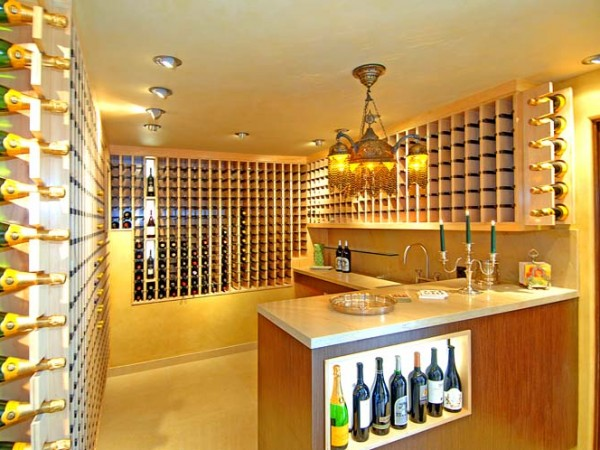 2618 Nottingham wine cellar